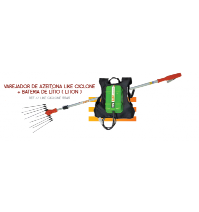 Varejador Like Ciclone Plus c/ Bateria Litio