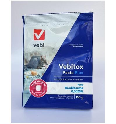 Raticida Vebitox Pellet Plus 140 g